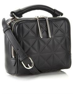 Black Leather Small Ryder Satchel 3.1 Phillip Lim