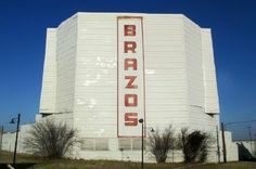 The Brazos Drive-In movie theater in Granbury, one of 10 remaining drive-in movie theaters in Texas, Granbury, TX. (Richard S. Buse photo).