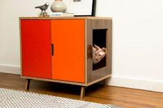Standard Cabinet /// Mid Century Modern Pet by modernistcat, $549.00