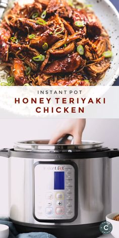 Bold and tasty Instant Pot Honey Teriyaki Chicken made effortlessly in your pressure cooker with just a handful of pantry ingredients. This is a must-make family-favorite weeknight meal to please even Best Instant Pot Recipe, Instant Recipes, Instant Pot Dinner Recipes, Instant Pot Meals, Instant Cooker, Instant Pot Pressure Cooker, Pressure Cooker Fried Chicken, Power Pressure Cooker, Pressure Pot