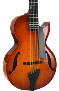 """Benedetto Guitars Andy Elite™. 12 inch lower bout and 23"""" scale length."""