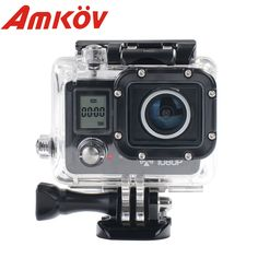 >> Click to Buy << AMK5000S Wifi Outdoor Video Camera Camcorder Digital Cam Video HD DV Car DVRWaterproof 30M Shockproof 20MP 1080P #Affiliate