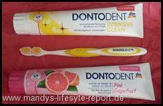 """Mundhygiene ist ein wichtiges Thema für die Gesundheit und gehört auch zu einem gepflegtem Äußeren mit dazu.   Heute möchte ich euch vier Produkte von DONTODENT vorstellen, die mir  von dem """" dm-Marken Blog-Newsletter Team """" zur Verfügung gestellt wurden. DONTODENT ist übrigens die Eigenmarke von dm.Produkte:  DONTODENT Zahncreme """"Pink Grapefruit""""  DONTODENT Mundspülung """"Pink Grapefruit""""  DONTODENT Zahncreme Intensive Clean mit """"Zitrusgeschmack""""  DONTODENT Zahnbürste...."""