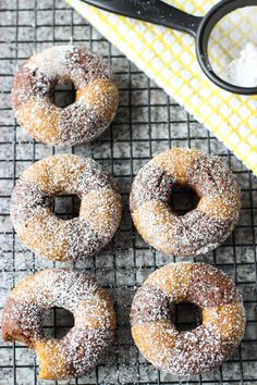 Baked Chocolate Pumpkin Donuts | My Sequined Life