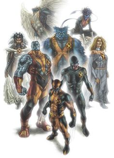 Astonishing X-Men, awesome suit for Angel