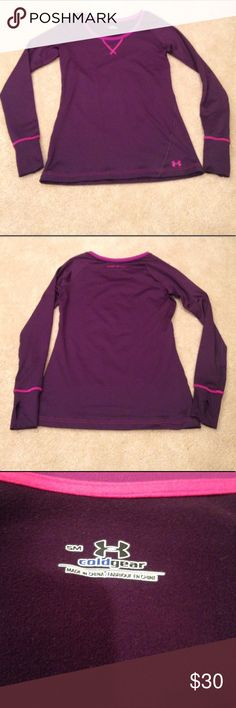 Under Armour Cold Gear Long Sleeve Under Armour Cold Gear Long Sleeve. Very warm. Flattering fit. Like new! Under Armour Tops