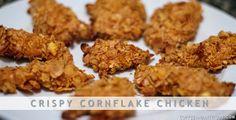 Crispy Cornflake Chicken @ coffeeandattitude.com