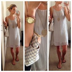 Ready for the summer! I loooovvvee this dress. Warm Weather, Short Dresses, Summer Outfits, Cover Up, Bohemian, Spring Summer, Summer Clothing, Silk, Nudes