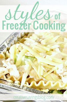 This detailed post explains the 4 different methods, or styles of freezer cooking. Find out which one you should try first!