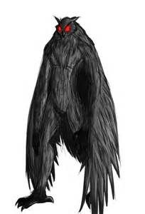 Cryptozoology - Owlman Cryptid Drawing - Bing Images