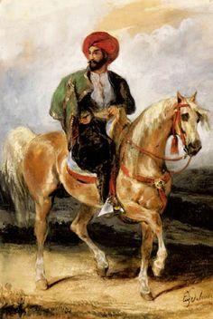 DELACROIX Eugene Ferdinand Victor - French (Saint-Maurice-en-Chalencon 1798 - 1863 Parijs) -