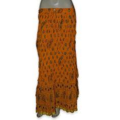 indian cotton skirts, long skirts, summer skirts, yellow skirts, yellow skirts for women,