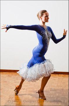 Designer Latin Rhythm ballroom competition dance by LelicDesings, $1458.00