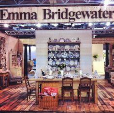 Emma Bridgewater Blue Hen & Border at the NEC Spring Show 2014