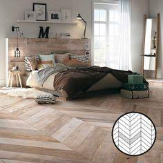 Esittelemme kaikki laattojen ladontamallit | Meillä kotona Wood Effect Porcelain Tiles, Aesthetic Value, Outdoor Settings, Natural Wood, Layout, Indoor, Flooring, Blanket, Contemporary