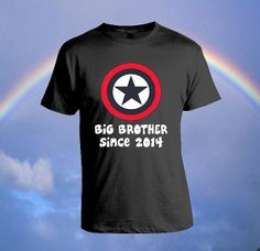 Big Brother SINCE Custom T-shirt, print screen T-shirt, Awesome T-shirt for Men, Size S -- 5XL