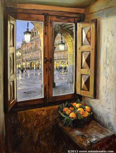 Spanish painter  Antonio Varas de la Rosa \\ AntonioVaras.com