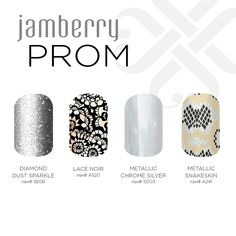 What is going to be on your fingers for prom? Buy 3 Get 1 Free! www.kerriberry.jamberrynail.net
