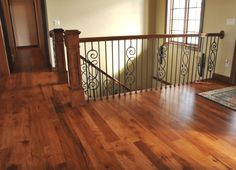 Hickory Stained Hardwood Floors | home images hickory rustic grade with dark stain hickory rustic grade ...