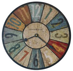 antique howard miller wall clocks | Sylvan II Wall Clock by Howard Miller