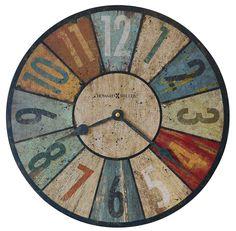 antique howard miller wall clocks | Sylvan II Wall Clock by Howard Miller