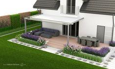 Outdoor Rooms, Outdoor Furniture Sets, Outdoor Decor, Low Maintenance Garden, Backyard, Patio, Beautiful Gardens, Future House, Pergola