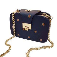 Autumn Winter Bag 2017 New Fashion Women Handbags Leather Shoulder Bag Retro Messenger Small Chain Crossbody Bag Bolsa Feminina
