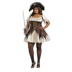 Buccaneer Pirate Queen Halloween Costume for Women