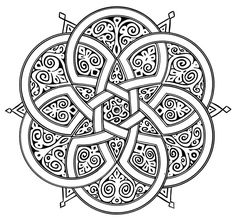 Islamic Art Geometric Designs Sketch Coloring Page Motifs Islamiques, Islamic Motifs, Islamic Art Pattern, Arabic Pattern, Pattern Art, Pattern Design, Mandala Art, Geometric Mandala, Mandala Drawing