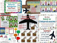 Travel Classroom Theme MEGA Bundle from Joy in the Journey. Everything you need to complete your Travel Themed Classroom! $8
