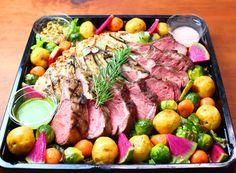 Food Design, Cobb Salad, Steak, Picnic, Party, Fiesta Party, Picnics, Parties, Steaks