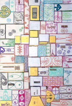 ©Tracey Tawhiao -   Maori   Art   Painting   Kowhaiwhai   Maori Symbols, Maori People, Maori Designs, New Zealand Art, Atelier D Art, Nz Art, Maori Art, Kiwiana, Cubism