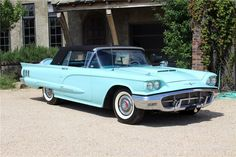 """1960 Ford Thunderbird """"Square Bird,"""" fully equipped with every option available at its release. In excellent condition and a national prize winner at the 201..."""