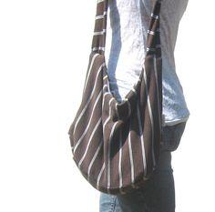 Hobo Bag Modern Fashion Slouch Bag Sling by SmiLeaGainCreations, $28.00