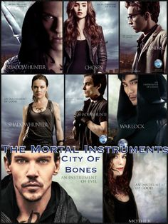 The Mortal Instruments collage made by Veronica Slemp