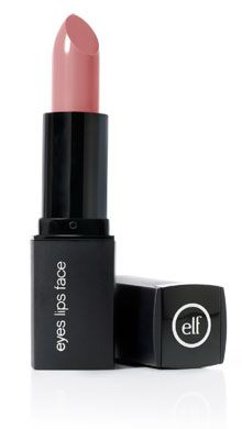 "E.L.F. Mineral Lipstick-- this shade is ""Rosy Tan.""  I own almost all of the eighteen shades available, and I love them!  Great quality lipstick, good color selection, and NO carmine or beeswax!  Yeeeah!"