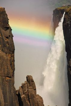 Victoria Falls, South Africa by Debbie Prediger