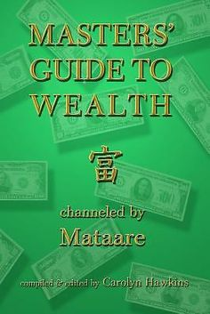 Psychic Masters Guide to Wealth by Paul McClain Mataare Spirituality Channeling