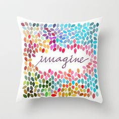 Imagine by Anna Carol & Garima Dhawan Throw Pillow/Society6