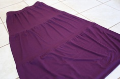 Sew Much Ado: Maxi Skirt Tutorial - like the beginning about making the waistband