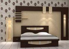 New bedroom wood ceiling design ideas Bedroom False Ceiling Design, Luxury Bedroom Design, Bedroom Bed Design, Bedroom Furniture Design, Bed Furniture, Bedroom Designs Images, Wood Bed Design, Room Partition Designs, Bedroom Cupboard Designs