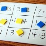Math Tic Tac Toe - variations: multiplication, fractions, etc.  One could even make it grammar Tic Tac Toe with verbs, nouns, etc.