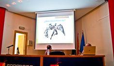 """Charla, en el """"XIX Salón del Cómic de Granada"""", titulada """"Las ciencias de la vida entre viñetas"""".  Foto: Lidia Fernández. #XIXSalónDelCómicGr #CEntreViñetas"""