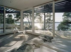 Archipelago House: A Home by the Lake (Sweden) - Retirement?