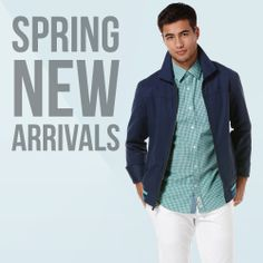 See what's new for Spring from Original Penguin.