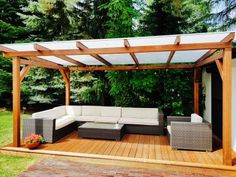 Pergola Patio – Making a cool and cozy outside house could be difficult – particularly when there aren't any timber … Patio Images, Patio Pictures, Outdoor Pergola, Backyard Patio, Outdoor Decor, Patio Deck Designs, Patio Design, Free Pergola Plans, Backyard Buildings
