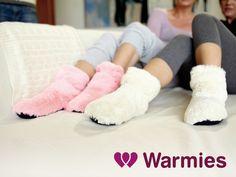 Slippies Boots - Hjemmesko der kan varmes i mikroovnen!