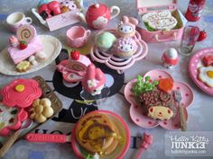 My Melody Cafe Re-ment