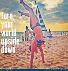 turn your world upside down handstand