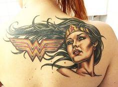Wonder Woman Superhero, My Superhero, Wonder Women, Tattoo Inspiration, Girl Power, Tatting, Ideas, Wonder Woman, Lace Making